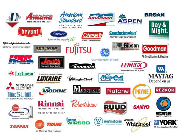 brands of HVAC equipment that we service in Raritan NJ