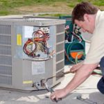 image of professional air conditioner maintenance in newark nj