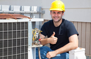 image of an air conditioner repair and HVAC contractor in Paterson NJ