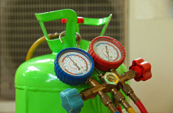 R-22 refrigerant in an old air conditioning system